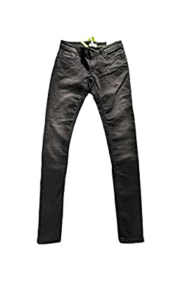 Adidas Neo Womens Denim Faded Black Super Skinny Jeans W28 L34