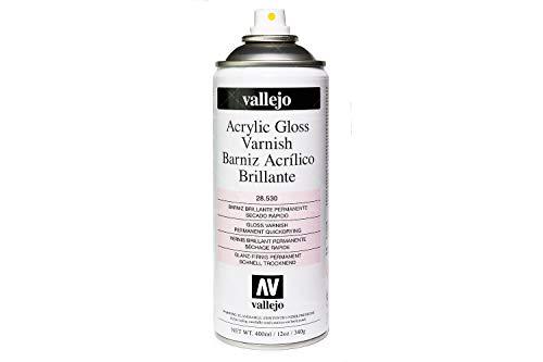 Spray Protettivo Trasparente Lucido Vallejo (400ml)
