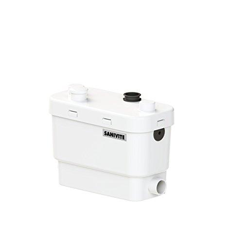 SFA SANIBROY 0008P Schmutzwasserpumpe/Haushaltspumpe SANIVITE+ | Pumpe für Dusche, Waschmaschine, Waschbecken, Badewanne, Geschirrspüler,… | Förderdistanz : 55x5m, Wasser 40°, 400 Watt, 220-240 Volt
