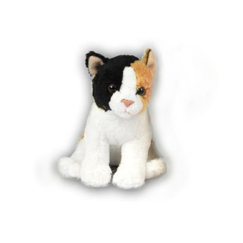 Anna Club Plüschtier Katze (15cm) lebensecht Kuscheltier Stofftier -