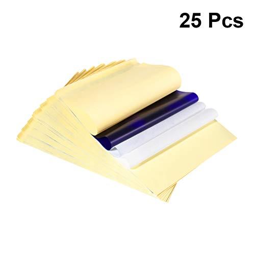 SUPVOX 25 Blatt Tattoo Transferpapier Schablonenpapier Tattoo-Zubehör Papier A4