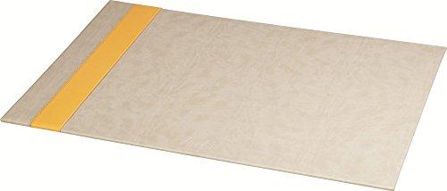 Clairefontaine Rhodiarama Schreibunterlage aus Kunstleder Italienisch 60x 40cm beige (Klappe Beige)