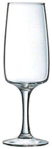 Luminarc 7276011 Coffret de 6 flûtes 17 cl - Equip Home, Verre, Transparent, 18,5 x 12,5 x 18,2 cm