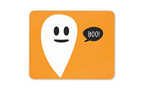 (Netter Baby-Geist Boo Mauspad Pad - Halloween Scary Festive Computer-Geschenk # 14771)