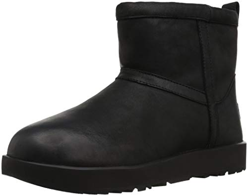 UGG CLASSIC MINI LEATHER WATERPROOF Stiefel 2018 black, 42
