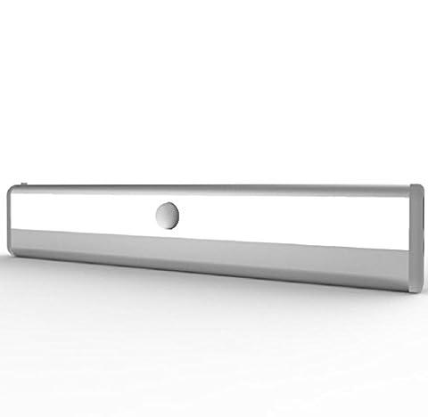 Elyseesen 10 LED lumineux PIR capteur de mouvement lampe d'armoire