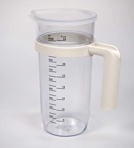 Sanfor 15029 vaso batidora 1L, Plástico, TRANSPARENTE