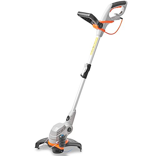 VonHaus 550W Grass Trimmer With Adjustable Telescopic Pole - 27cm Cutting Diameter & Adjustable Angle Head