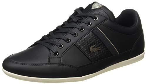 Lacoste Herren Chaymon 319 1 CMA Sneaker, Schwarz (Black/Khaki 2h5), 43 EU