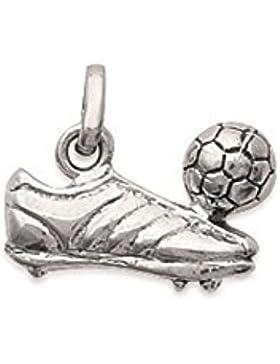 Anhänger aus Sterling-Silber 925/000rhodiniert–Schuh