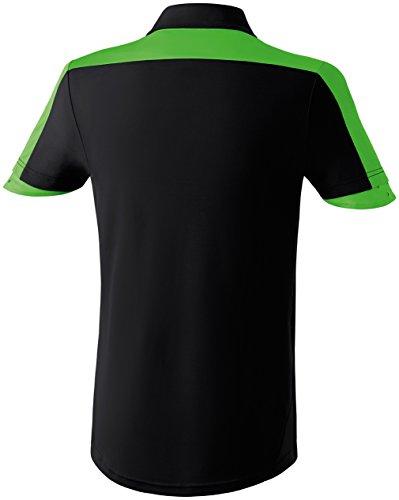 erima Erwachsene Trikot Madrid Schwarz/Green/Weiß