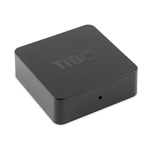 TIBO Bond Mini | Audio Receiver/Streamer mit WLAN | Schwarz Stereo Eco-serie