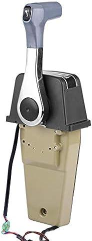 Akozon Remote Control Box Marine Outboard Engine Single Binnacle for Suzuki 67200-93J13