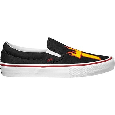 7103f21a8ea6 Vans x Thrasher Slip-On Pro (Thrasher Black) Mens Skate Shoes-10