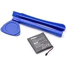 vhbw Batería de polímero de litio 300mAh(3.7) herramientas incluidas para Smart Watch reloj de pulsera Motorola Moto 360 como WX30, SNN5950A, SNN5951A