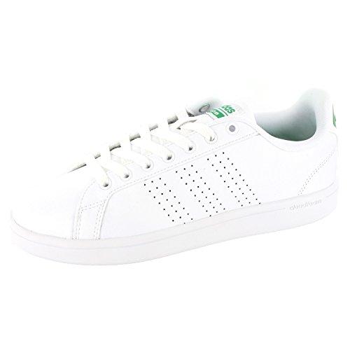 adidas Cloudfoam Advantage, chaussure de sport homme Blanc