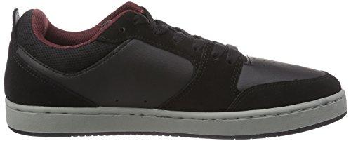 Etnies VERANO Herren Sneakers Schwarz (Black/Grey/Red)