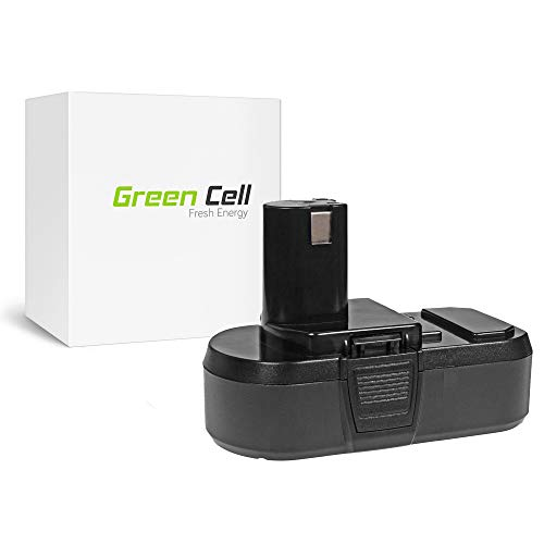 9f2b202bd9a1d Green Cell® Batería de Herramienta Eléctrica para Ryobi P1812 (Panasonic  Li-Ion celdas 2.5Ah 18V)