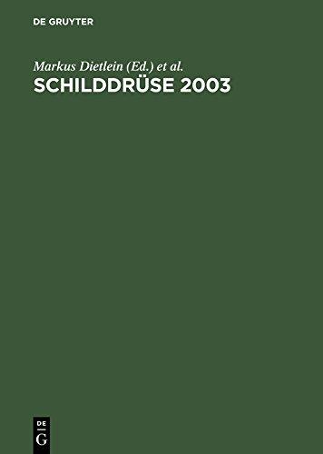 Schilddrüse 2003: Henning-Symposium. Zufallsbefund Schilddrüsenknoten. Latente Schilddrüsenfunktionsstörungen. 16. Konferenz über die menschliche Schilddrüse, Heidelberg