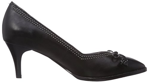 Clarks Deeta Bombay, Decolleté chiuse donna Nero (Black Leather)