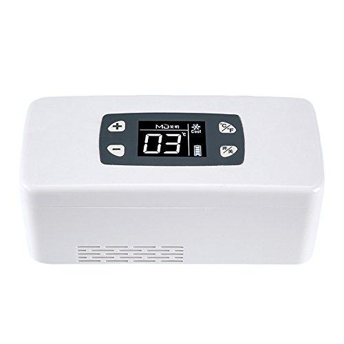 DAWNG-16 Raffreddatore di insulina portatile dispositivo di raffreddamento per piccoli medicinali uso in frigorifero refrigerato sistema di controllo della temperatura avanzato ideale per viaggi lavoro guida e aereo