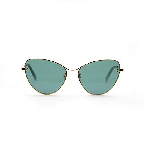 Stella mccartney occhiali da sole sc0157s // 001-gold-gold-green