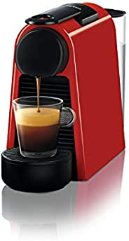 Nespresso Essenza Mini D30 Kapsüllü Kahve Makinesi, Kırmızı