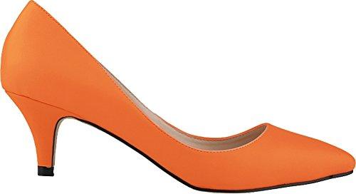 Salabobo , Sandales Compensées femme Orange