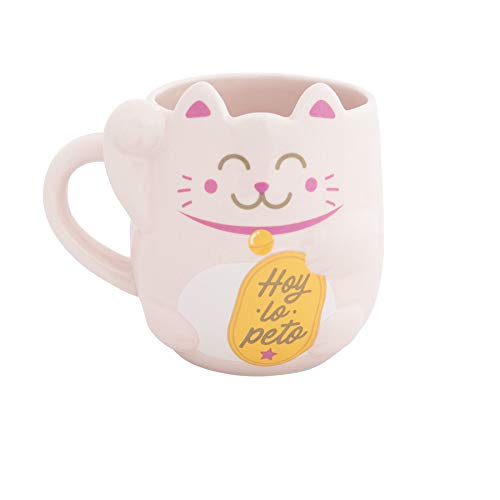 Mr. Wonderful Taza Maneki-Neko-Lucky Collection, Talla única
