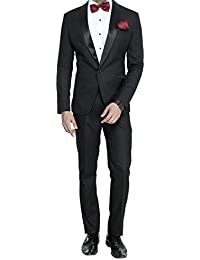 dc8459ffc660 Amazon.in: Blacks - Suits & Blazers / Men: Clothing & Accessories