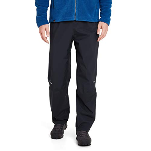 Berghaus Gore-Tex Herren Regenhosen  Paclite Pants, Schwarz, L (Standard), 432373B50
