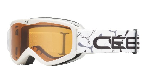 Cébé Goggles Teleporter, White Orange, 1350D002XS