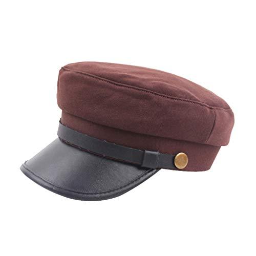 e9da4856d70cb Mxssi Gorra Unisex del Ejército de Adultos Gorra Retro del Ejército de la  Boina Sombrero de