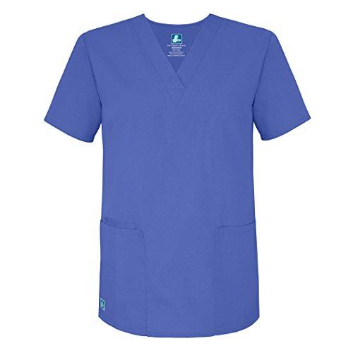 Medizinische Uniformen Unisex Top Krankenschwester Krankenhaus Berufskleidung 2600 Farbe: CBL | Größe: ()