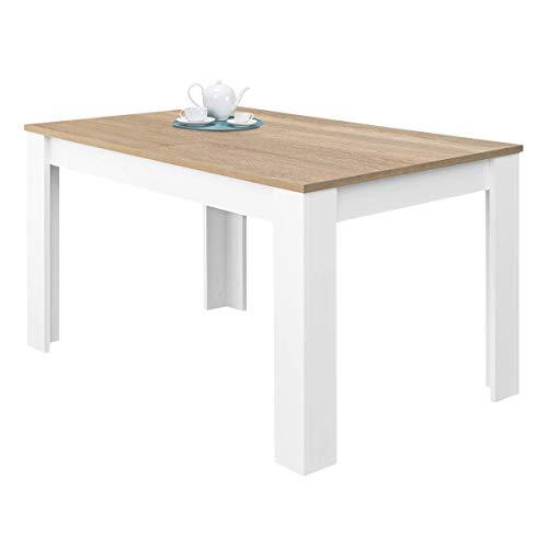 Habitdesign 0F4586A - Mesa de Comedor Extensible, Mesa salón o ...