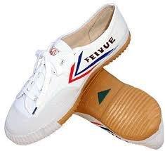 Feiyue, Scarpe da arti marziali uomo Bianco bianco, Bianco (bianco), 38 EU