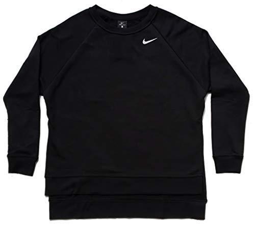 Nike AJ4307-010 Damen Pullover, Schwarz/Weiß - schwarz - X-Large