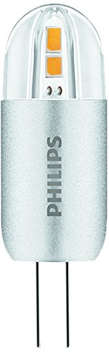 Philips Bombilla Tubular Cápsula LED, 2 W, casquillo G4, no regulable Blanco,
