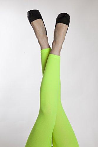 KarnevalsTeufel Leggings in verschiedenen Neon-Farben (grün)