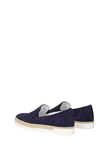 Slip On Tod's Donna - Camoscio (XXW0TV0J90LCA) EU Blu