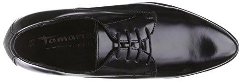 Tamaris 23210, Derbies à lacets femme Noir - Schwarz (Black Brush 050)