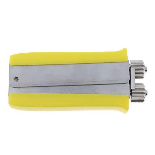 FLAMEER Edelstahl Draht-Spanner Handzange Quetschzange Crimper Werkzeug Imker-Ausrüstung hölzerner Griff