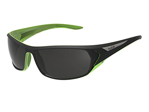 BOLLE BLACKTAIL SPORT SUNGLASSES (POLARIZED TNS OLEO AF LENS MATT BLACK/LIME)