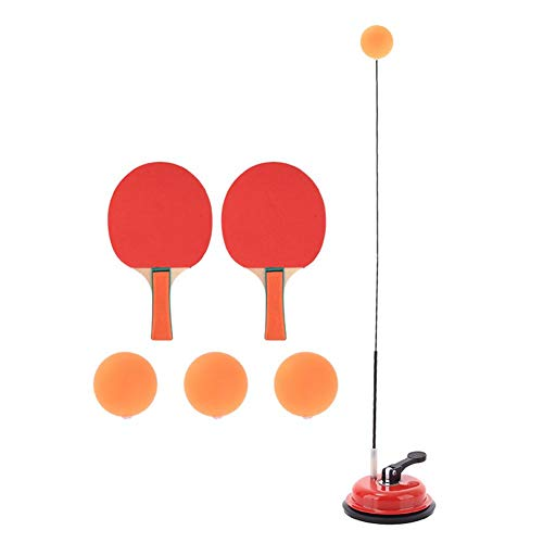 Tischtennistrainer, Paddle-Tennis-Trainingsgeräte mit elastischem, weichem Wellenblick, Ping-Pong-Trainingsgeräte Freizeit Dekompressionssportarten für Kinder, die drinnen oder draußen spielen