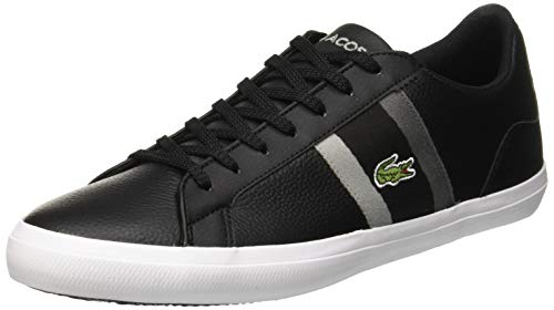 Lacoste Herren Lerond 119 3 CMA Sneaker, Schwarz (Blk/Dk Gry 237), 40 EU