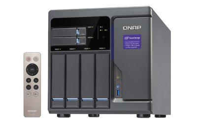 QNAP TVS-682 4-Bay Network Attached Storage Enclosure with Intel i3 Processor and 8 GB RAM