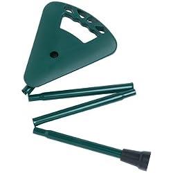 Activera - Asiento plegable para caza (altura del asiento 70 cm), color verde