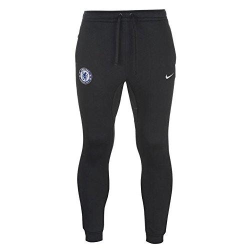 Nike 2017-2018 Chelsea Core Fleece Pants (Navy)