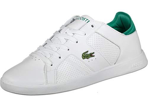 Lacoste Herrenschuh/Sneaker Novas 219SMA,Weiß Grün,46 EU