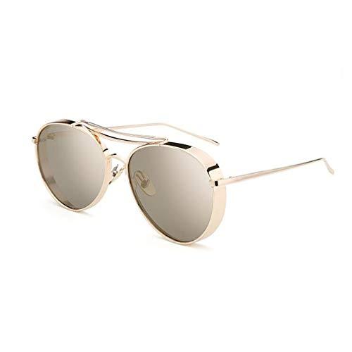 BYCSD Sonnenbrille Unisex Runde Retro Sonnenbrille Paar Brille, Breite/Schmale Kante Optional (Farbe : 05) 05 Brille